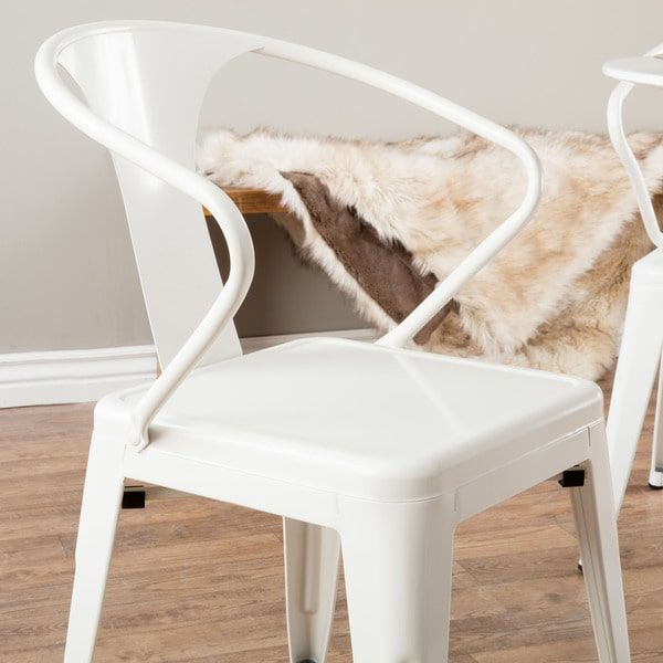 Awesome White Tabouret Stacking Chairs #7 - White Tabouret Stacking Chairs (Set Of 4)