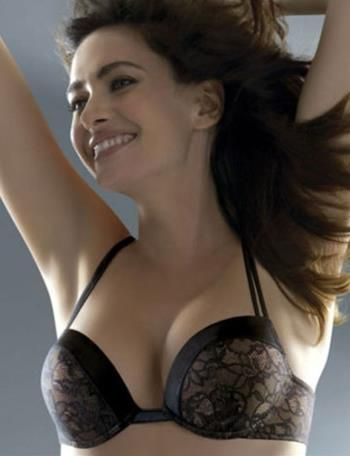 c5b19dfc82 Wonderbra SALE Goddess Plunge Bra 7804 - 7804 Black