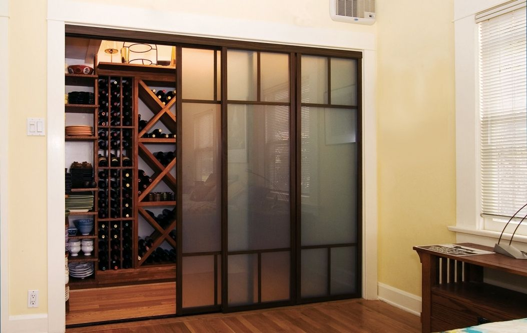 Frosted Glass Sliding Closet Doors Raymour And Flanigan