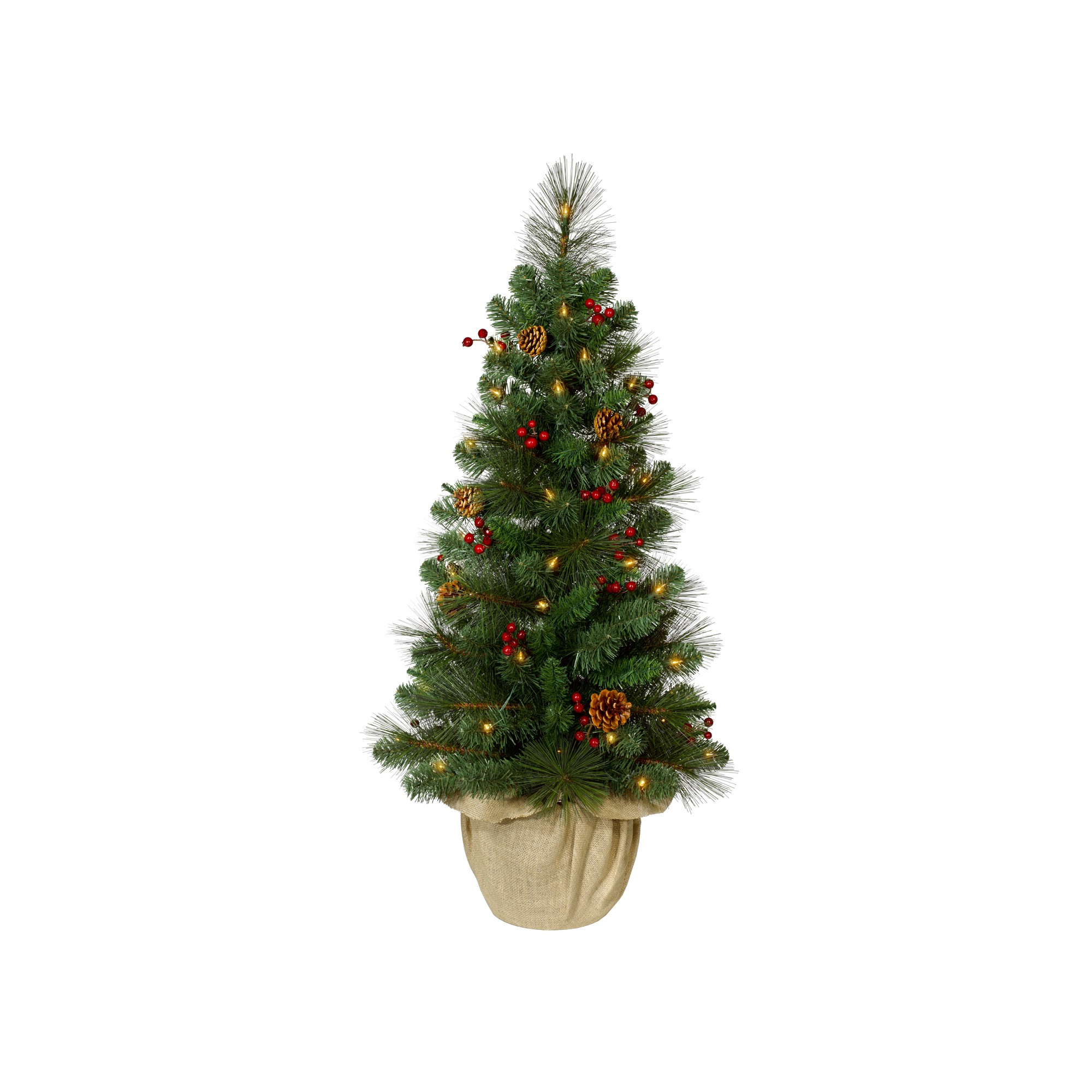 philips prelit artificial christmas tree potted douglas fir warm white led lights jpg 2000x2000 philips led