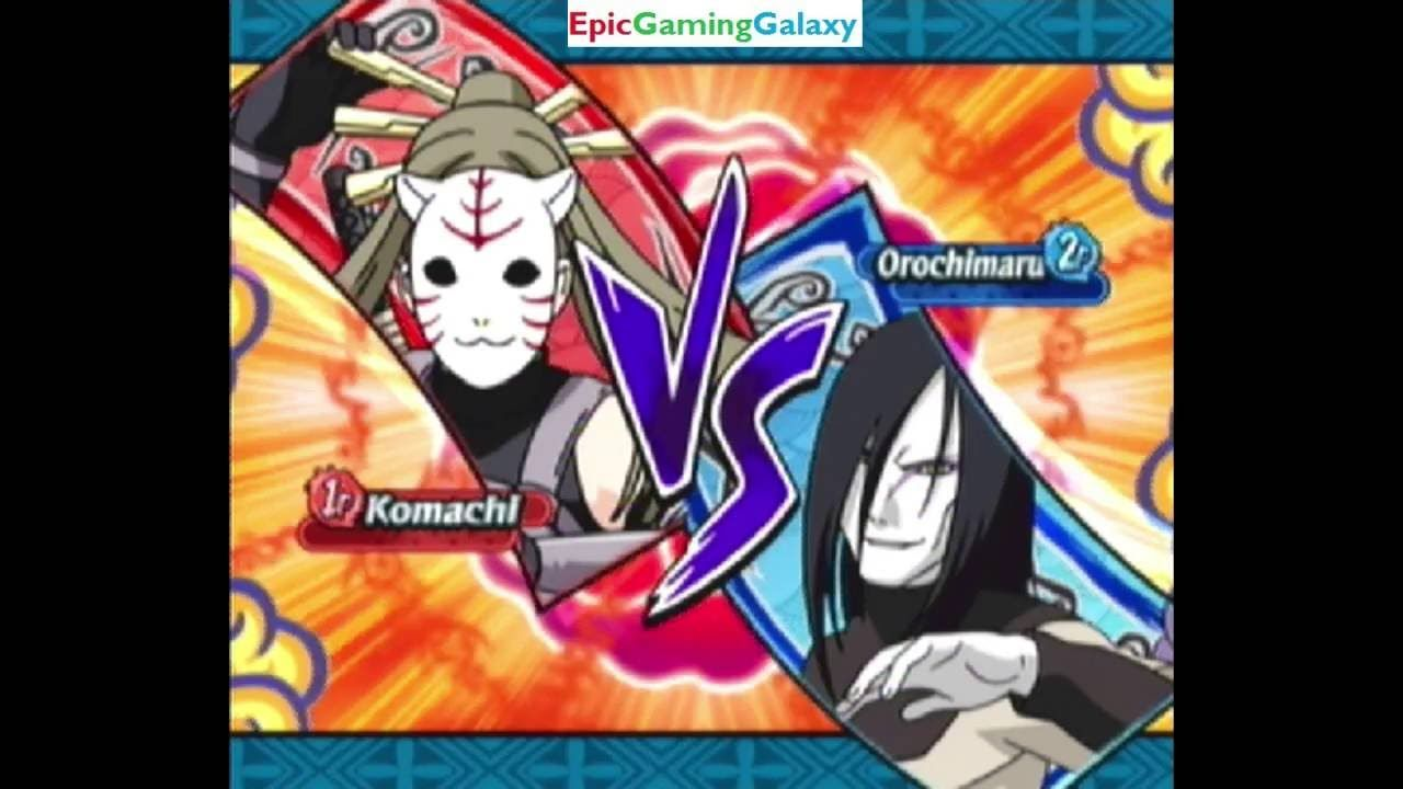 Orochimaru VS Anbu Black Ops Member Komachi In A Naruto Shippuden Clash Of Ninja Revolution 3 Match https://t.co/hbBqvqtRpD #IFTTT