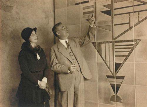 Wassily and nina kandinsky in the bauhaus salon de for Salon de musique strasbourg