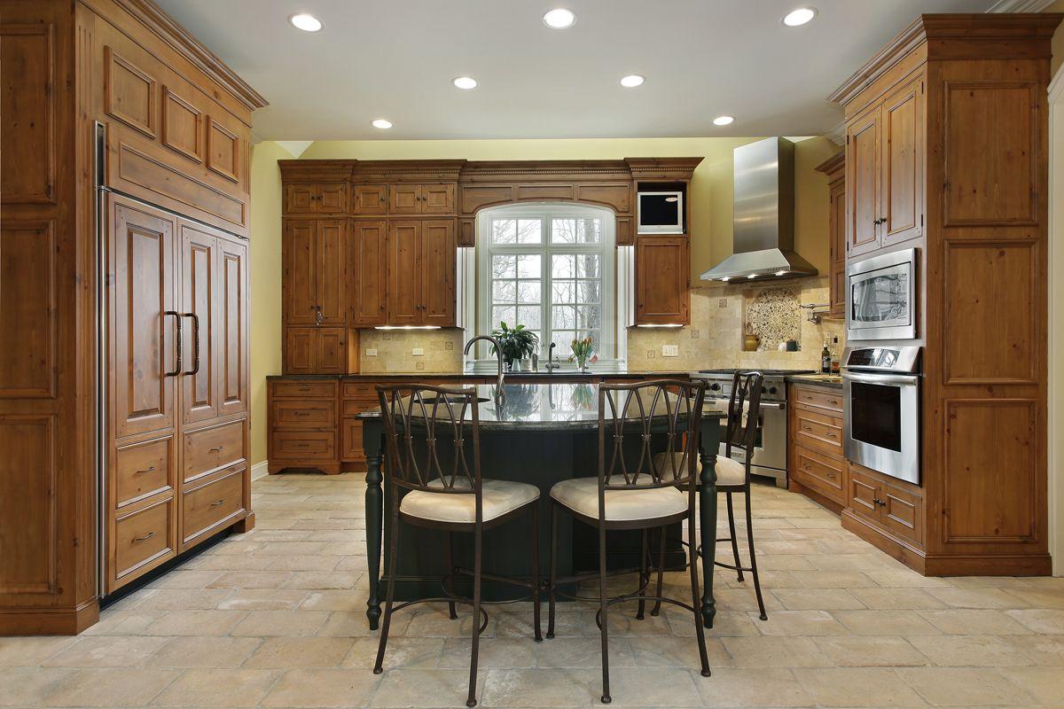 Chic Und Trendy Keller Küche Design die Küche ist normalerweise ...