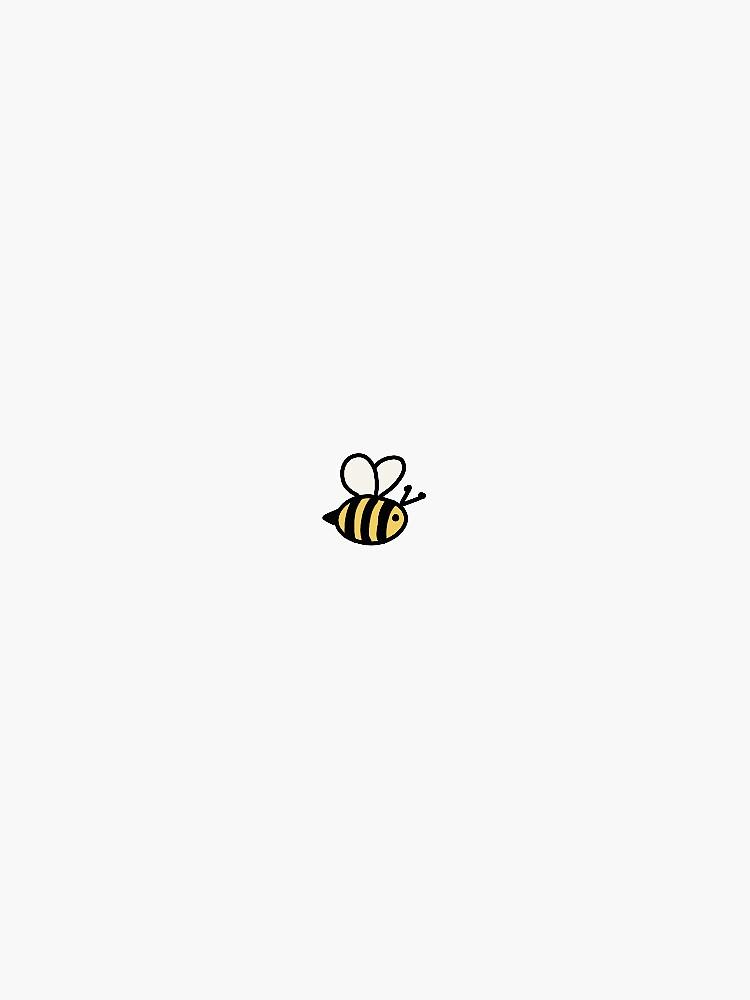 Cute Bumblebee Sticker