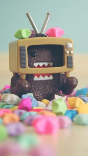Cute Domo Kun Theiphonewalls