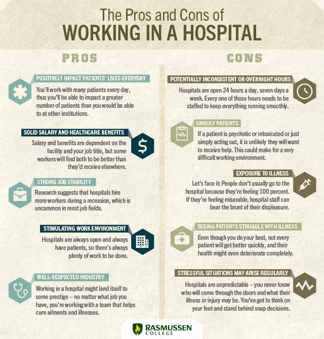 The Pros And Cons Of Working In A Hospital Www