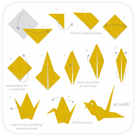 How To Make Paper Cranes Paper Crafts Pinterest Origami Paper