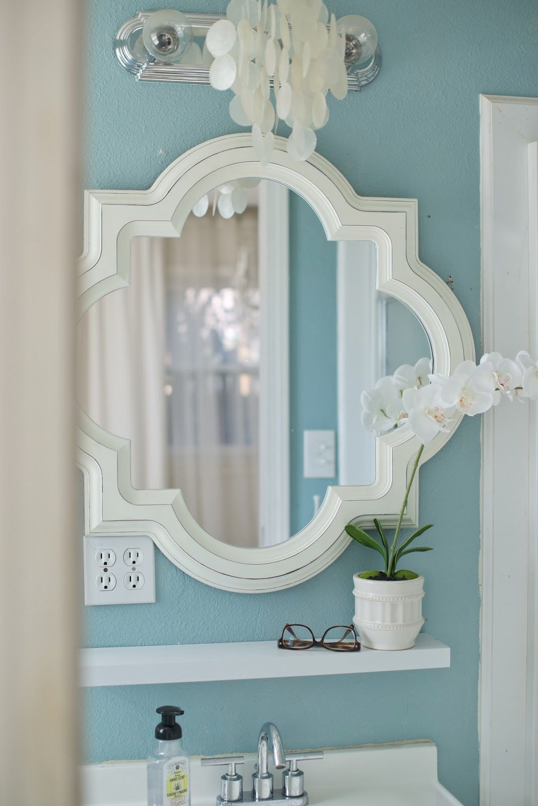 Domestic Fashionista : My Paint Colors Master Bathroom Behr Ultra ...