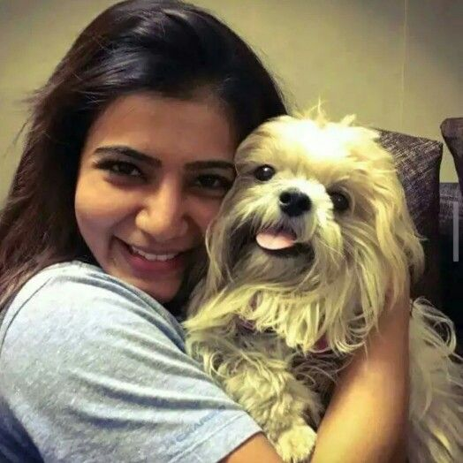 Image result for samantha with pet
