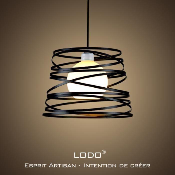 Blanc Moderne Applique Murale LED Industrielle Métal Bois éclairage Wall Light Luminaire E27 Douille pour Décoration Chambre Restaurants Café