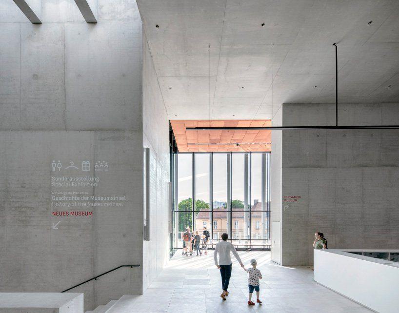 David Chipperfield Completes James Simon Galerie In Berlin David Chipperfield Architects Architect Museum Island