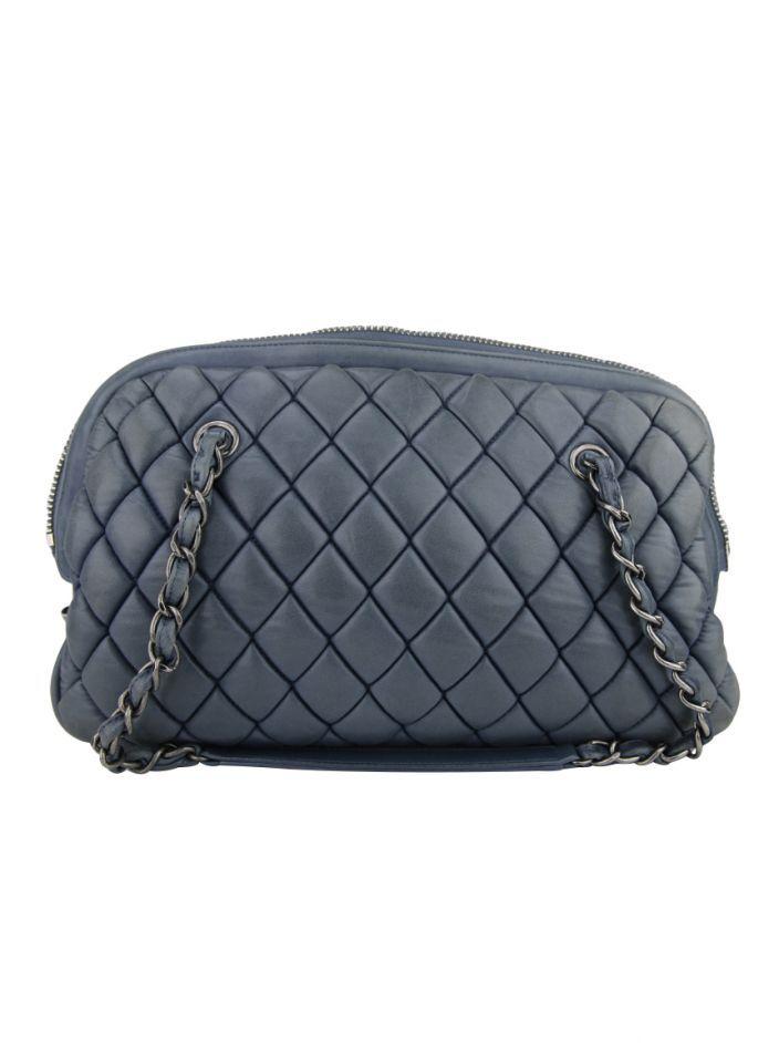 cb39b79c8 Bolsa Chanel New Bubble Quilt Bowler Azul | NEW IN | Bubble quilt ...