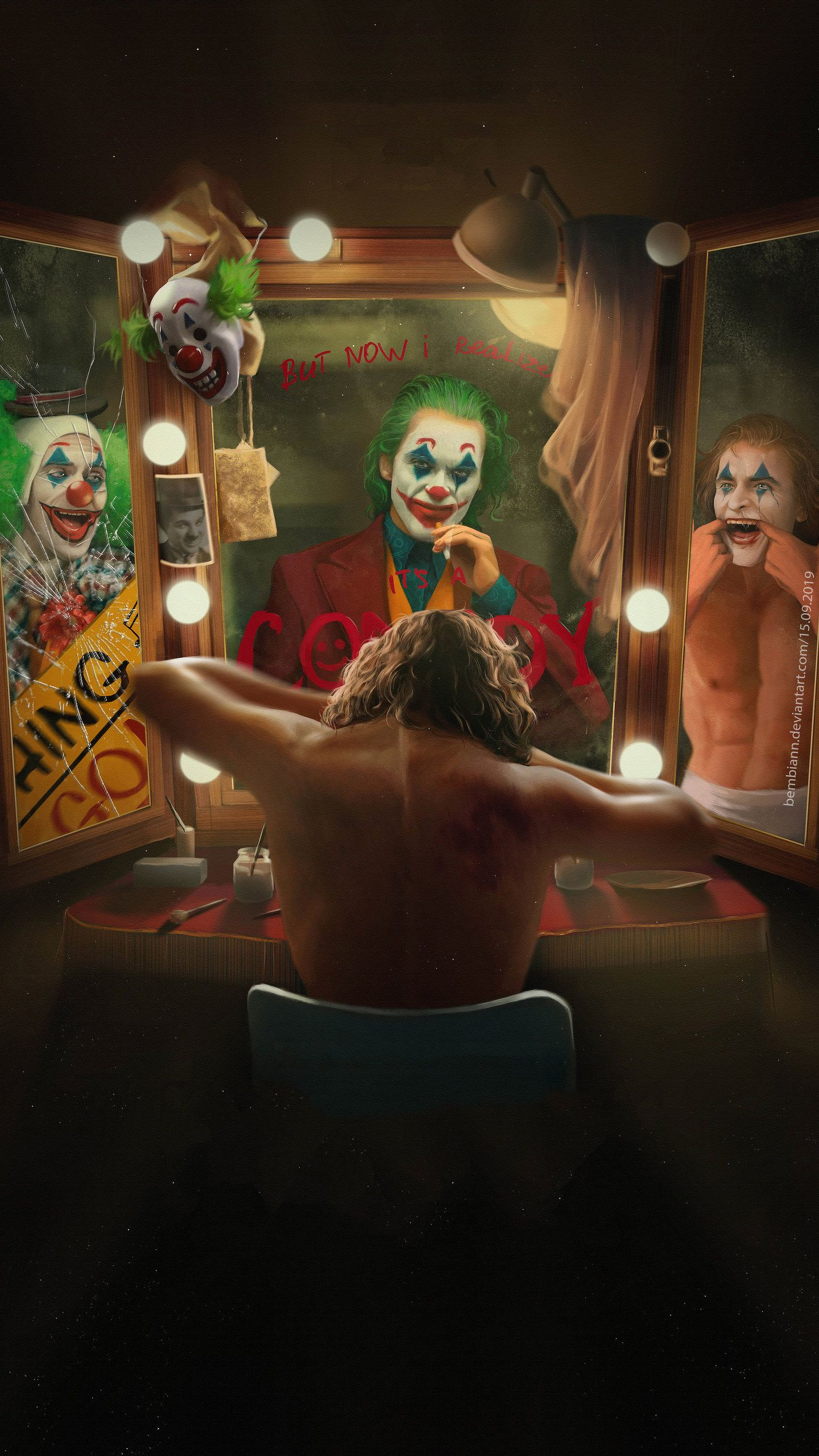 Joker 5k Movie Hd Wallpaper 1440x2560 Joker Hd Wallpaper Joker Poster Joker Artwork