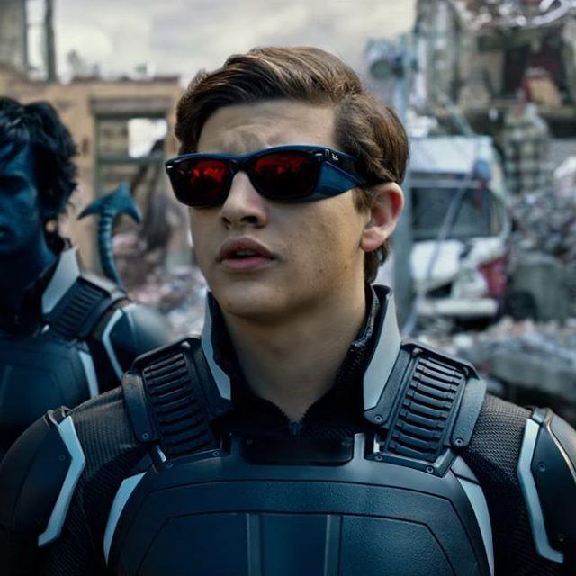 6af2b8a177 The Ray-Ban sunglasses that Cyclops (Tye Sheridan) wears in X-Men   Apocalypse (2016)  rayban  sunglasses  cyclops  tyesheridan  scottsummers…