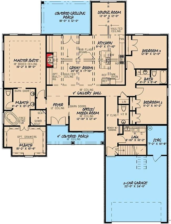 1800 Sq Ft House Sq Ft House Plans With Detached Garage A Really Encourage Best House Plans Images 180 Best House Plans House Floor Plans House Plans One Story