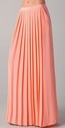 f97dad9a7037ee ShopStyle: Tibi Maxi Pleated Skirt | Holy Chic. in 2019 | Pleated ...