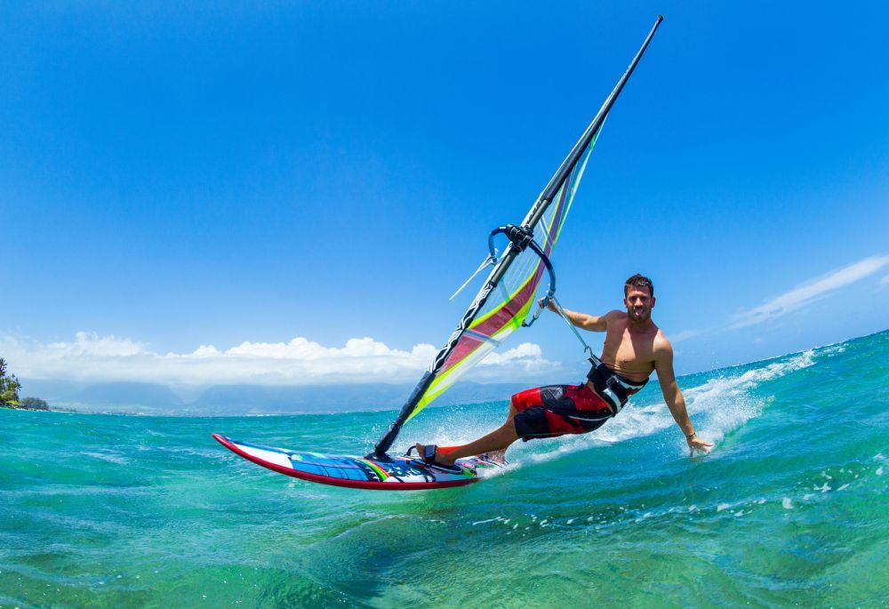Metal Detecting Windsurfing, Wind surfing photography