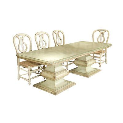 home accents colors #home #accents #homeaccents Habersham San Marco Dining Table Accents: Champagne, Color: Classic Studio - Antique Honey