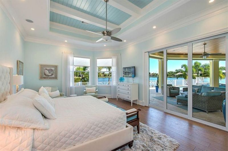 44 Gorgeous Coastal Bedroom Design Ideas To Copy Right Now
