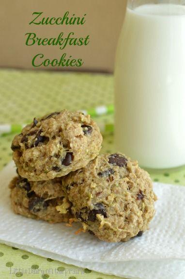 Zucchini Breakfast Cookies Recipe Cookies Recipes Pinterest
