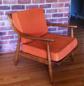 Mid Century Modern Conant Ball Designed By Russel Wright Chair