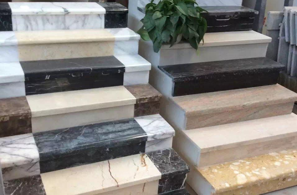 Best Phoenix Home Design Natural Stone Marble Staircase Stair In Modern City Stock Image Image Of 400 x 300