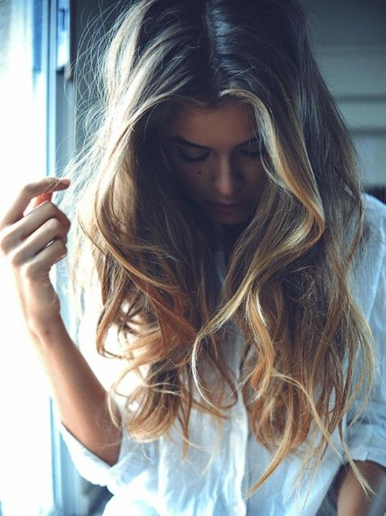 ombre frisuren langes haar trendige frisuren fà r lange haare