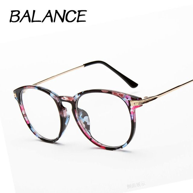 831f72fa7cf1 Reading glasses Retro Unisex Metal points womens eye glasses frame Brand  optical UV Protection vintage female eyeglasses