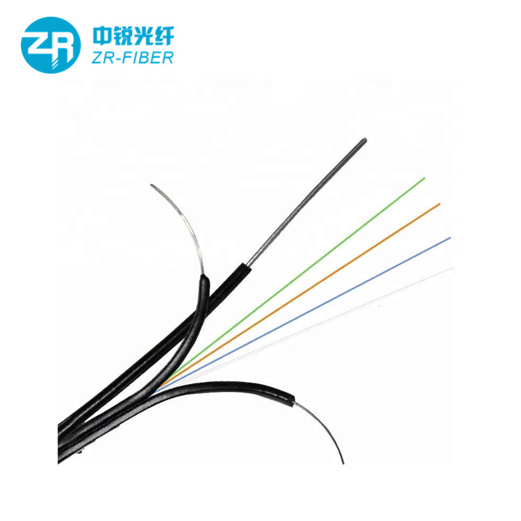 Factory 1 2 4 6 Core Lszh Ftth Flat Bow Type Network Cable Outdoor Gjyxch G652d G657a Fiber Optic Cable Drop View Fiber Optic Cable Drop Zr Product Details Fr Fiber Optic