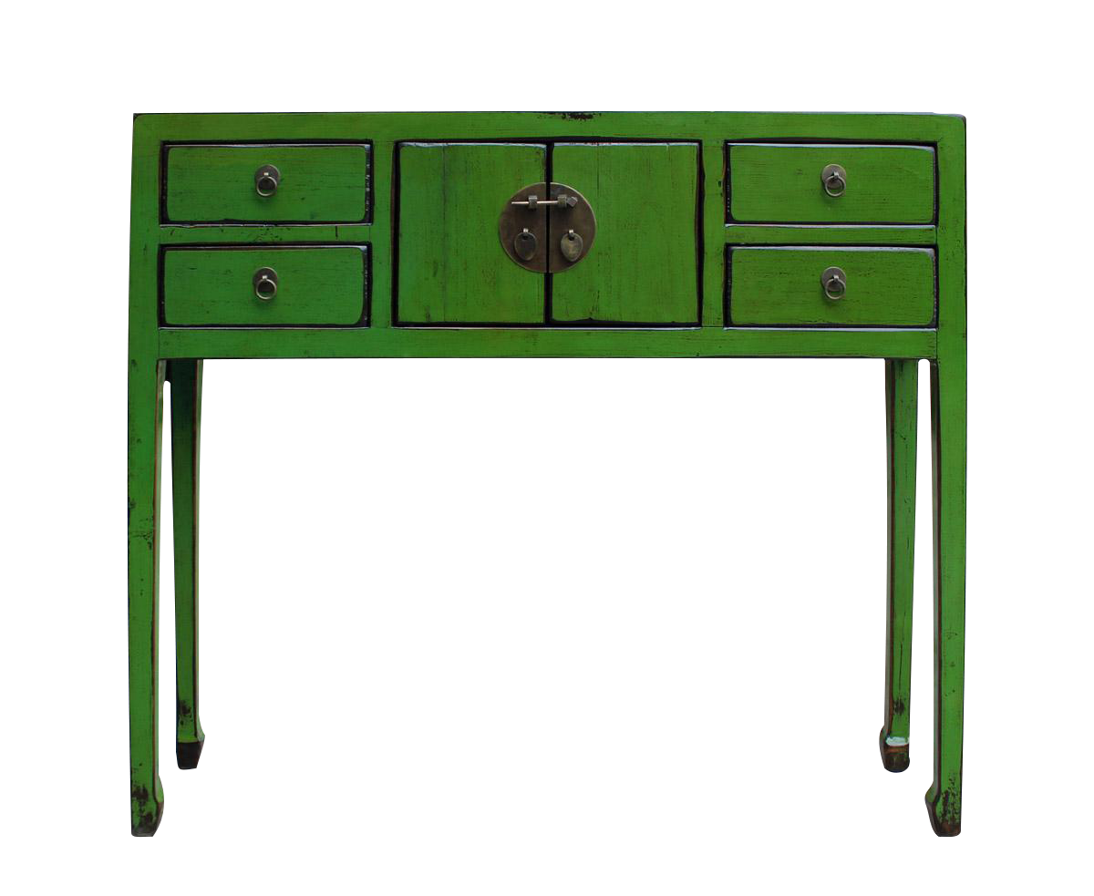 Chinese Distressed Green Console Table On Chairish Com Furniture Designer Console Table Console Table