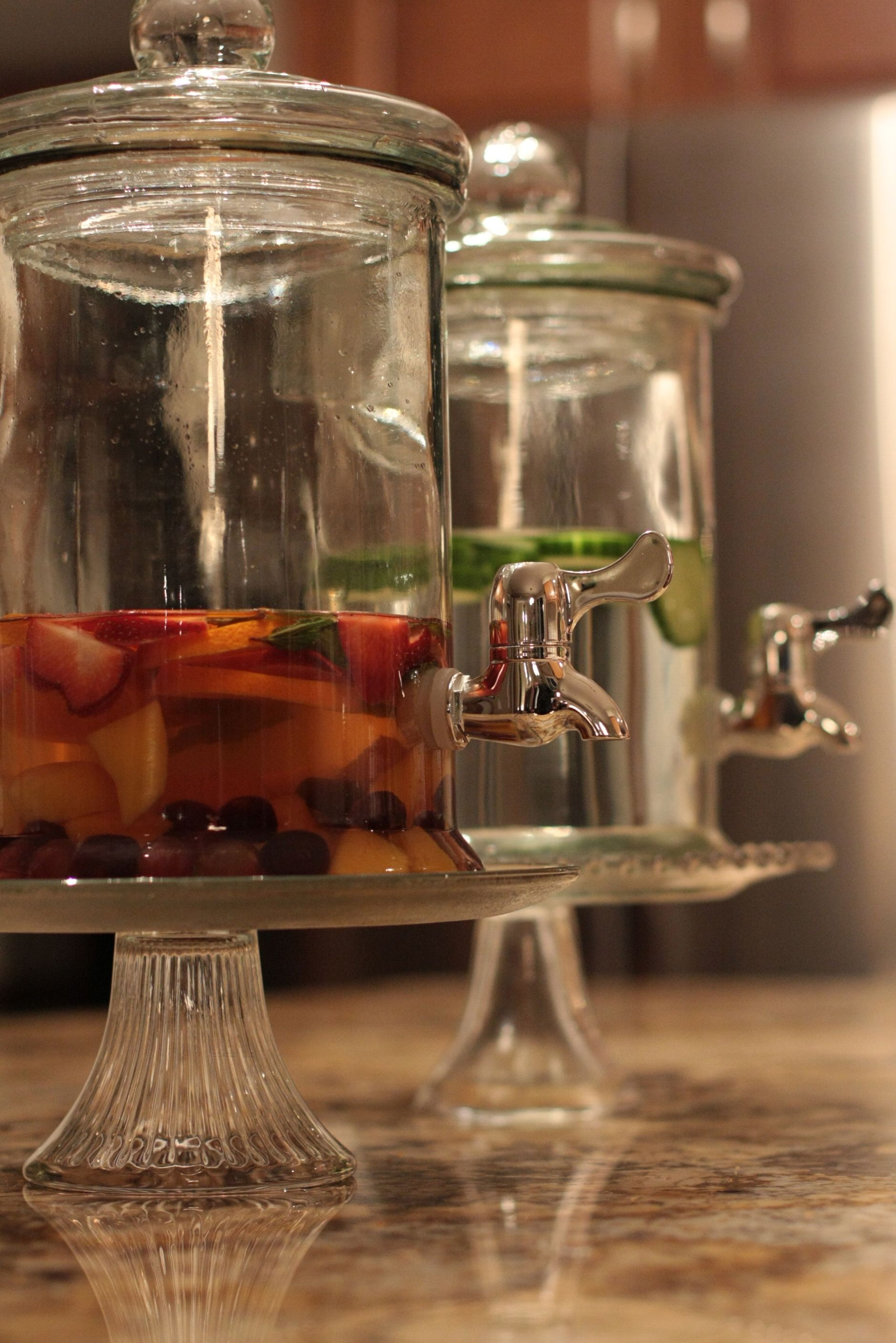 Pin By Kati Foster On Ideas For Entertaining Drink Dispenser Food Displays Food Platters Glass water dispenser with spigot