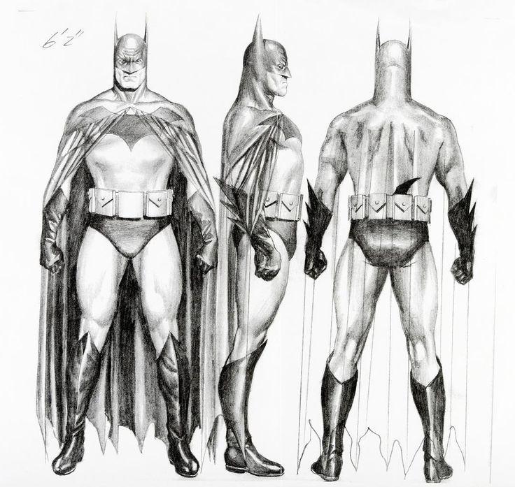 Batman Canvas Art Archives Desenhos Super Heroi E Quadrinhos Hq