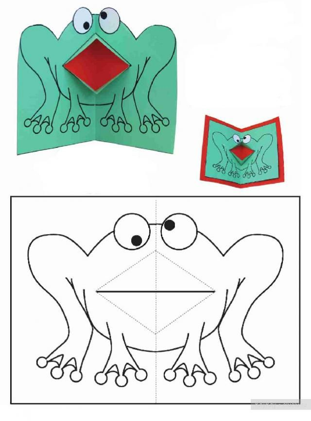 Игрушки из бумаги открытки, наурыз
