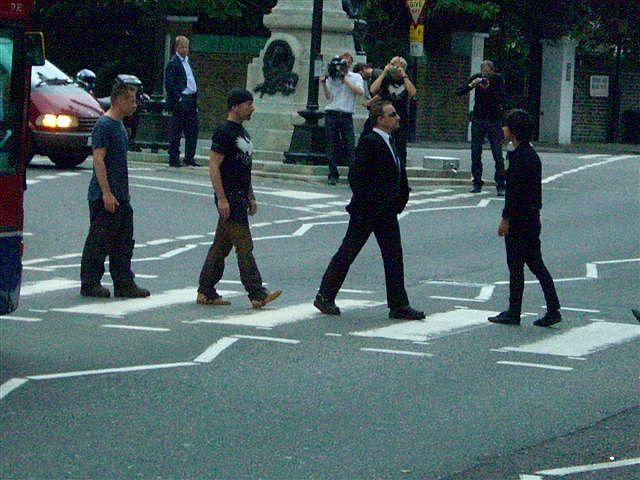 U2 and Green Day on Abbey Road. Possibly one one the best things I've ever seen.