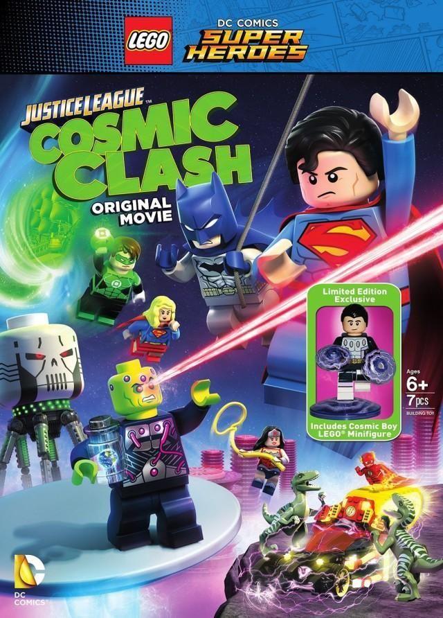 LEGO DC Super Heroes: La liga de la justicia. La invasión de Brainiac | BukerMovies