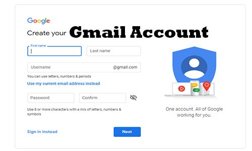 Gmail Account Steps to Create an Account in 2020 Best
