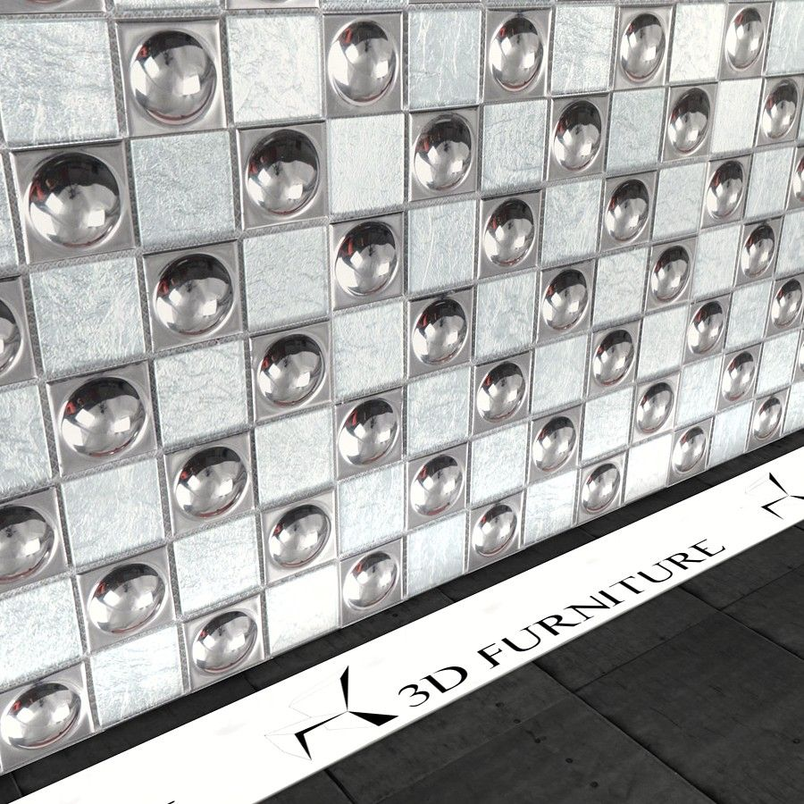 Sphere Mosaic Tiles Vray material - $0.00
