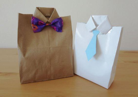 b3ac1b1ce8 DIY Valentines Day : DIY facile : pochette cadeau pour homme à faire  soi-même