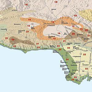 Sunset Climate Zones Los Angeles Region Climate Zones Drought Tolerant Landscape California Climates