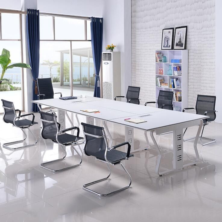 New Design Meeting Table Melamine Conference Room Furniture Tables ...