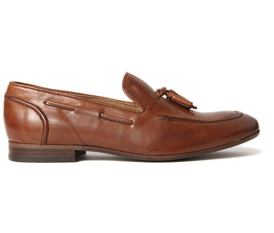 Pierre Tan Loafer - Still a strong trend amongst mens footwear, the tassled  loafer is back in this seasons collection. Pierre is an elegant slip on  suitable ...