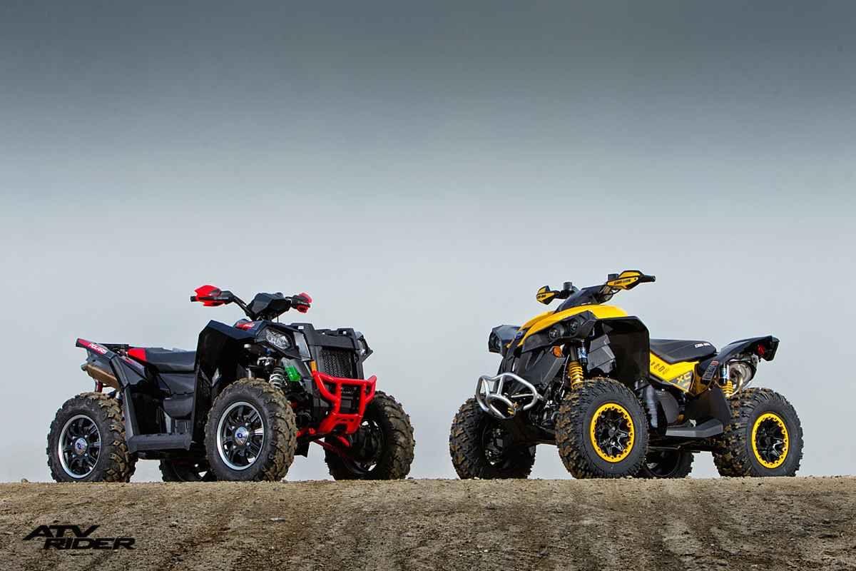 Polaris scrambler xp 850 vs can am renegade 1000 x xc atv rider
