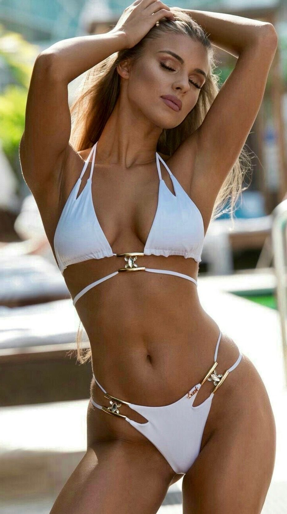 12aa2ef32d77 Bikini Bianchi, Bikini Estivi, Costume Da Bagno Bikini, Bikini Sexy, Bikini  Spiaggia