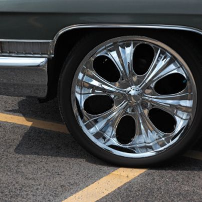 True or False: Does rim or tire size change your car's