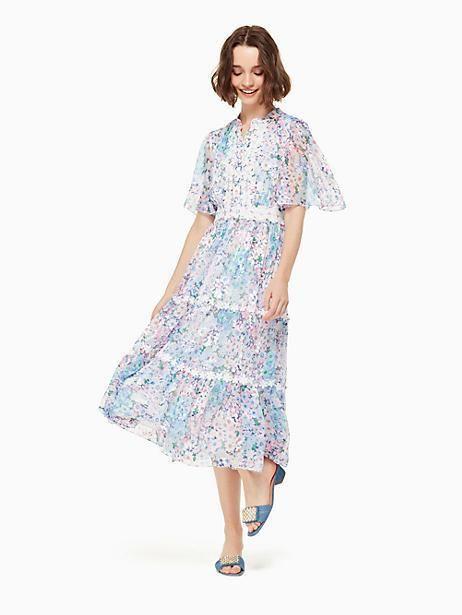 c683f57b13ee1 Kate Spade Daisy Garden Midi Dress, Size 14 | Products | Dresses ...