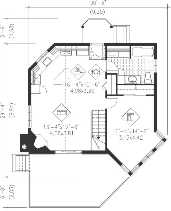 plan no 171211 house plans by westhomeplanners com haus grundriss garten grundrisse