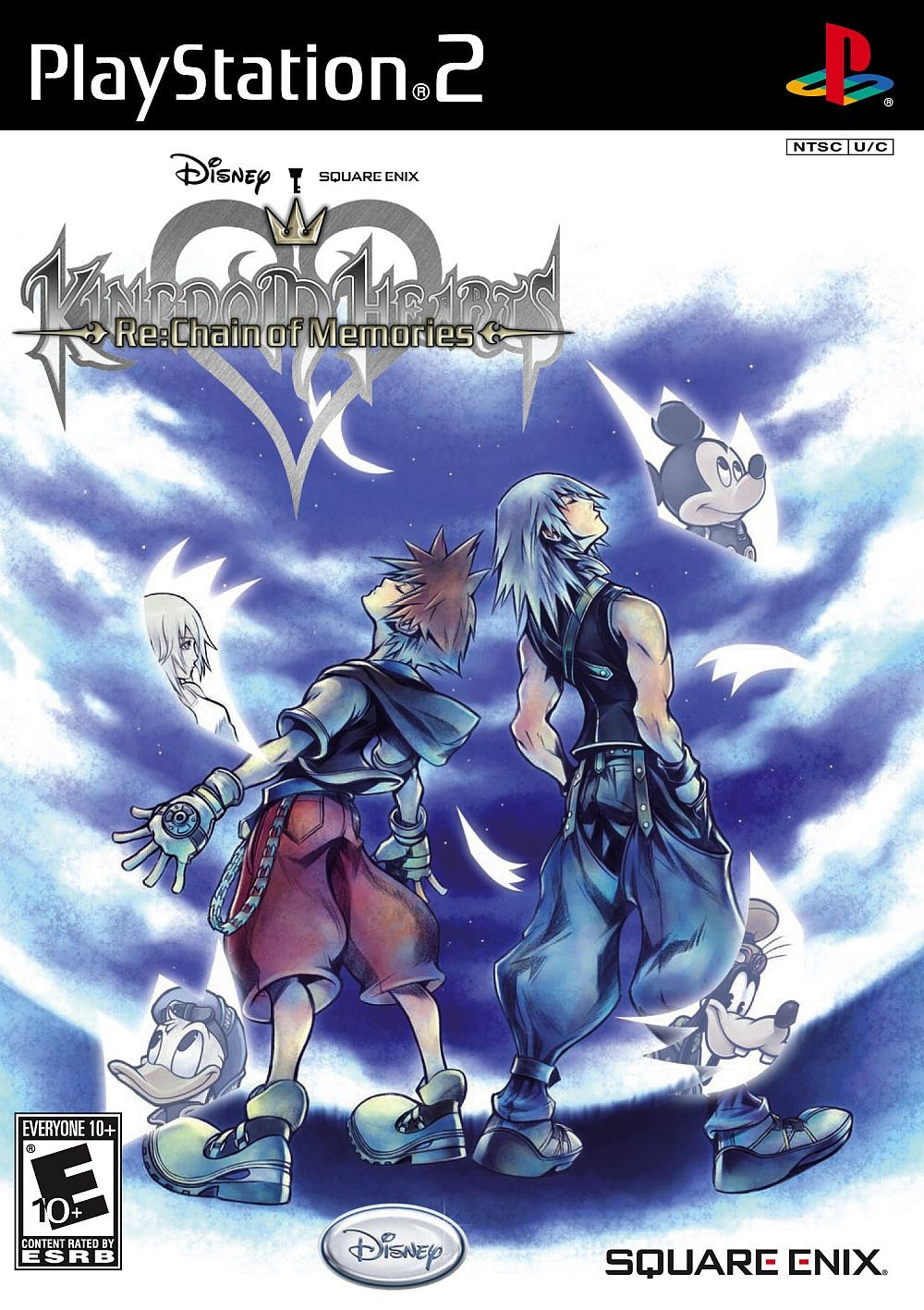 Kingdom Hearts Re Chain Of Memories Sony Playstation 2 Game