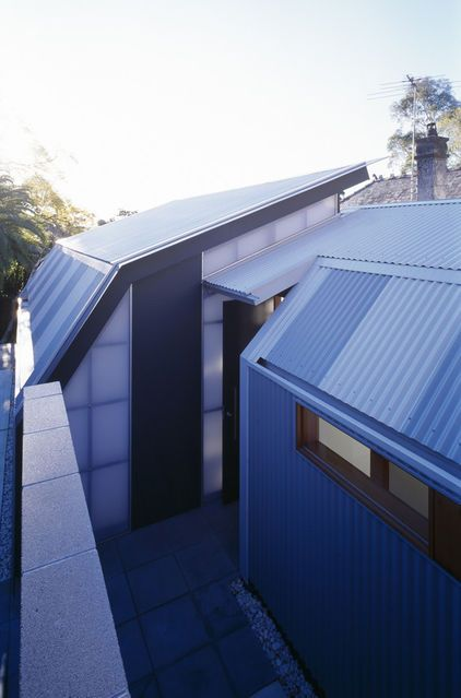 Nice Invisible Rain Gutters Contemporary Exterior By Sam Crawford Crawford Architects Architecture House Architect House