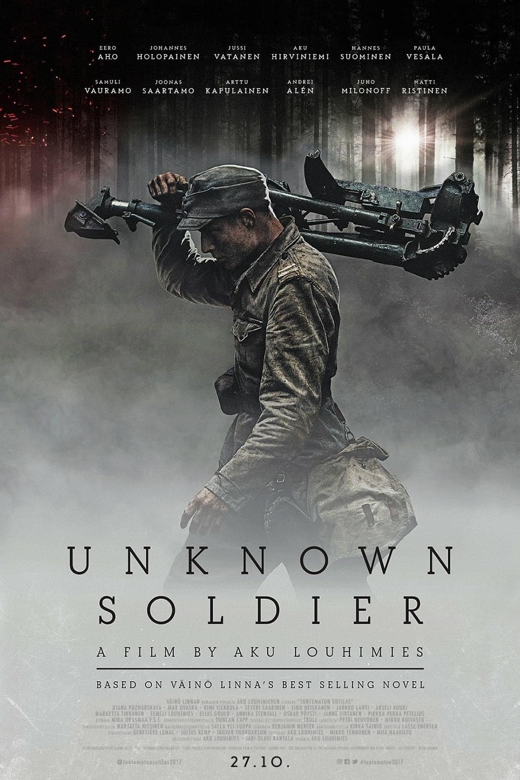 Unknown Soldier in 2020 Unknown soldier, Soldier, War film