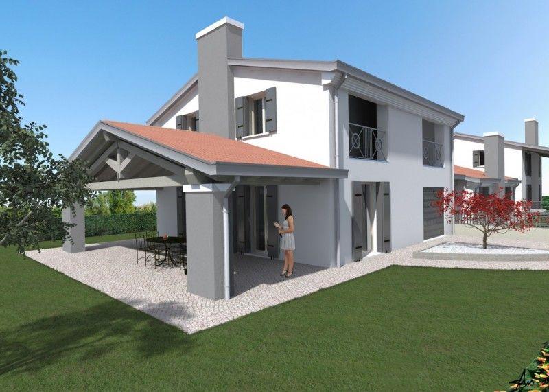 Villetta classica cerca con google esterni casa casa for Case moderne classiche
